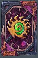 Hearthstone Zergy card back by PlumpOrange