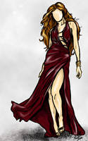 Greek Goddess by baypaintlover