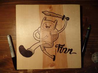 Finn! Adventure Time by KamKam-E