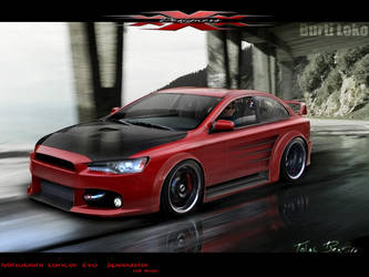 Lancer Evo. Full Brush by BurtiLoko