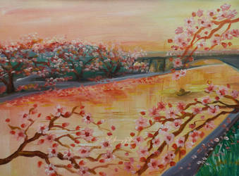 Twilight Blossoms Bega by HikarinoChou