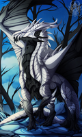 White Dragon Called Death by HarrietMilaus
