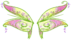 Flora Bloomix Wings by AstralBlu