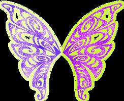 Tecna Butterflix Wings by AstralBlu