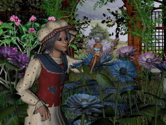 Ma Pook's Garden by allwaysjudee