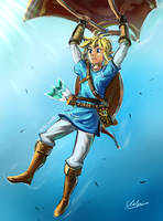 Link - The breath of the wild by V21e