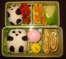 Panda Bento by Thenextera