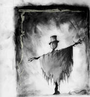 Scarecrow Sketch by vollmond