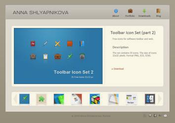 Web Portfolio by shlyapnikova