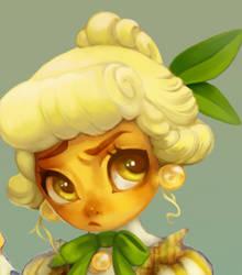 Wip Lemon maid by LittleRueKitty