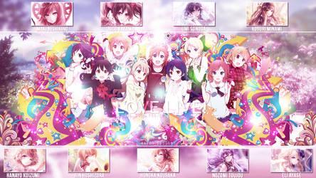 Wallpaper - Love Live! School Idol Project by kikiaryos