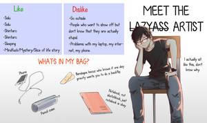 Meet the artist by Mazumaro