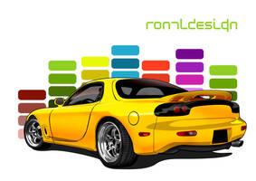 RX 7 Club by ronaldesign