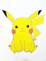 Pikachu by Infinite1999