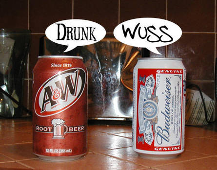 Root Beer vs Beer by jmanx