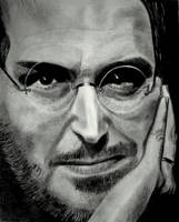 steve jobs portrait by mritunjay-singh