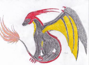 Marken Ghenthan dragon form by searingdestiny