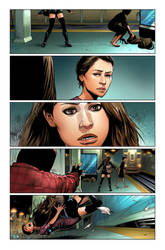 OrphanBlack Deviations#1 Page4 colors by sebastiancheng