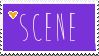 Proud To Be Scene Stamp by CalliiBloodlust