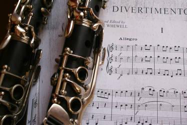 Clarinet and Divertemento by Bildermacher