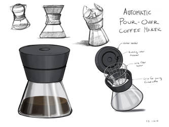 Automatic Pour-Over Coffee Maker by fbertucci22