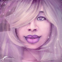 Amethyst ~Steven Universe by JenelleArt