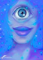 Sapphire ~ Steven Universe by JenelleArt