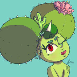 Cacti Baby by ToxicMiau