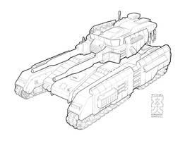 Spearpoint: Parthian Tank Line by Legato895
