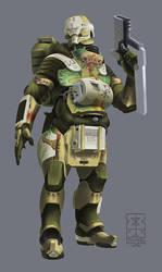 Jade Falcon Pilot by Legato895