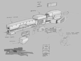 Anti Material Rifle Concept by Legato895
