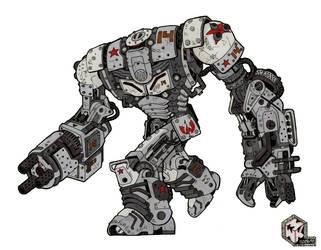 Steampunk Mech Final by Legato895