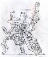 Steampunk Chair by Legato895