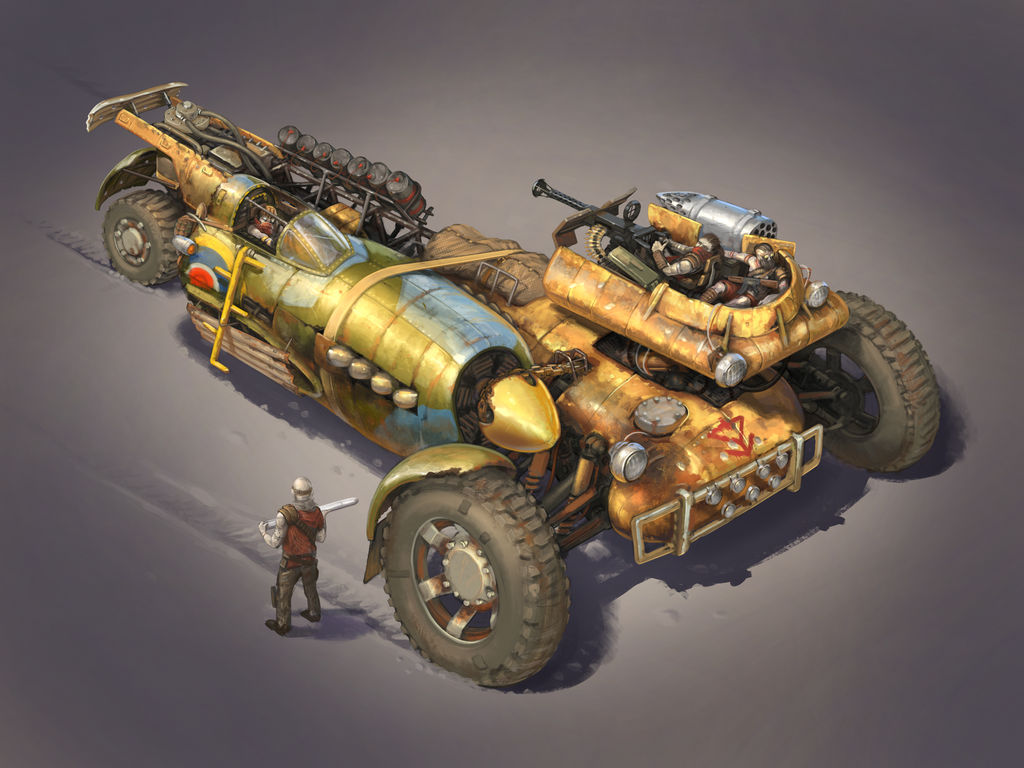 Pursuit Deterrence Vehicle  by Legato895