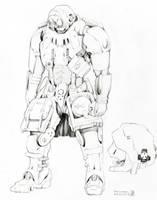 AFF - Grunt Concept Art by Legato895