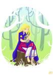 Freyja with Kunie by Anima-en-Fuga