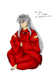 Inu Yasha by Edowyth-The-celte