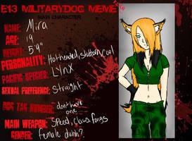 military dogs OC mira by Myo-Senpai