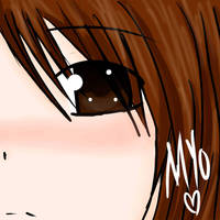 blushing myo by Myo-Senpai