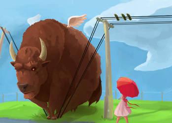 Buffalo Wings by evilpineapple
