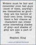 Stephen King advice on the bad guys by yunwi-tsunsdi