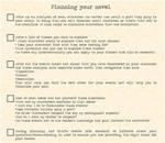 Planning your novel checklist by yunwi-tsunsdi