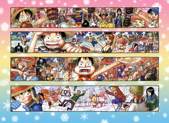 Poster from Shonen Jump Magazine 2007 by Claudia-Cher