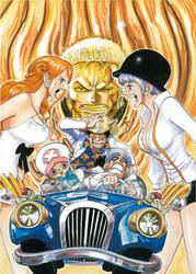 Poster from One Piece Film Gold by Claudia-Cher