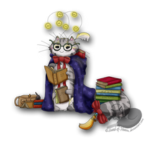 MYO Kitterpillar Contest Entry #1 - Bookworm by Sound-of-Heaven