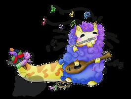 MYO Kitterpillar Contest Entry #2 - Music by Sound-of-Heaven