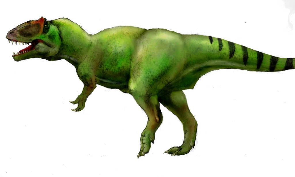 Giganotosaurus Gimp by kuzim
