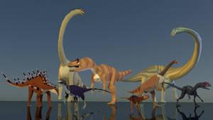Jurassic Panoply by kuzim