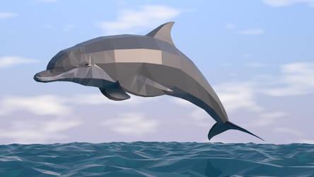 Bottlenosed Dolphin by kuzim