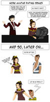 ATLA Dating Issues 2 by vick330